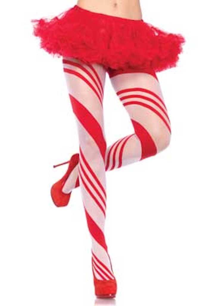 Candy Striped Pantyhose