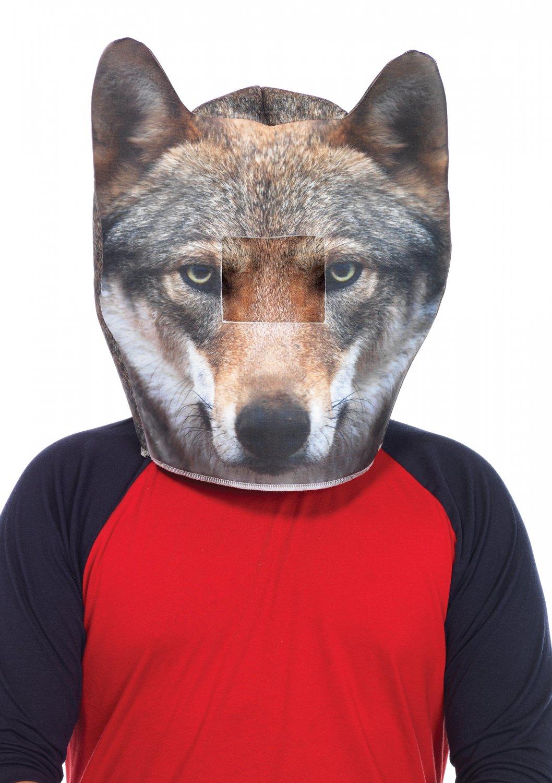 Foam Wolf Head