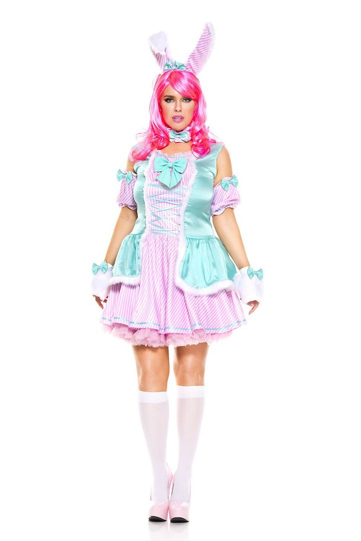 Bunny Beauty Costume Size 1X/2X
