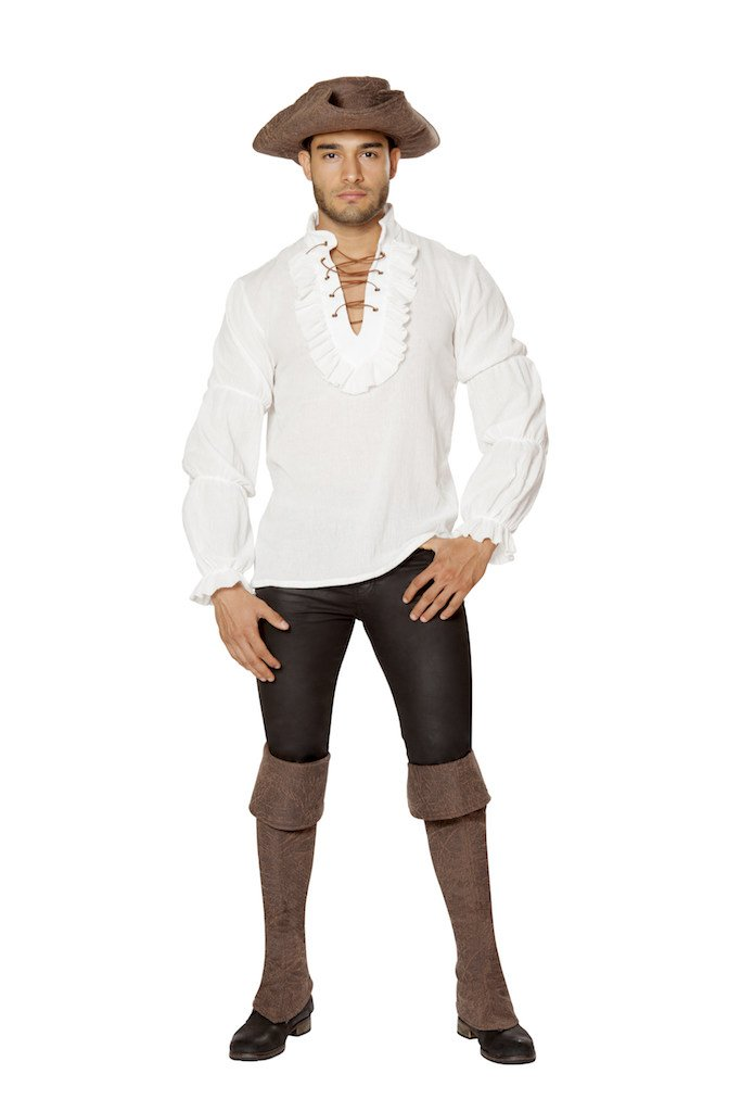 Pirate Shirt For Men Size Medium