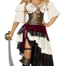3 PC Sexy Pirateer Costume Size Medium