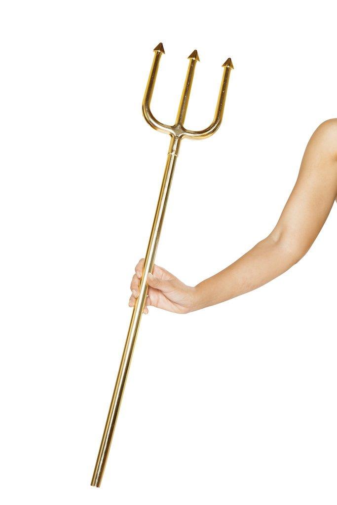Golden Trident Costume Sword