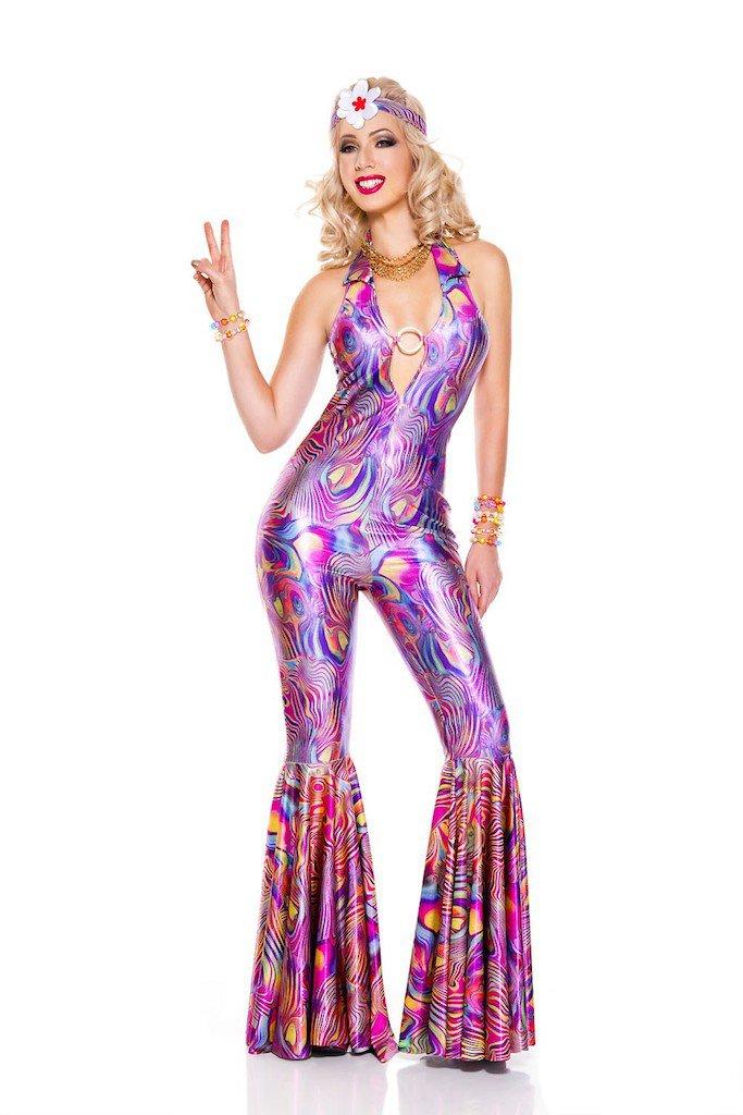 "Sku 70718 2 PC Groovy 70""s Diva Costume Size XS"