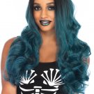 Sku A1530 Blended Two Tone Long Wavy Wig