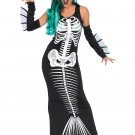 Sku 86690 3 PC Skeleton Siren Size M/L