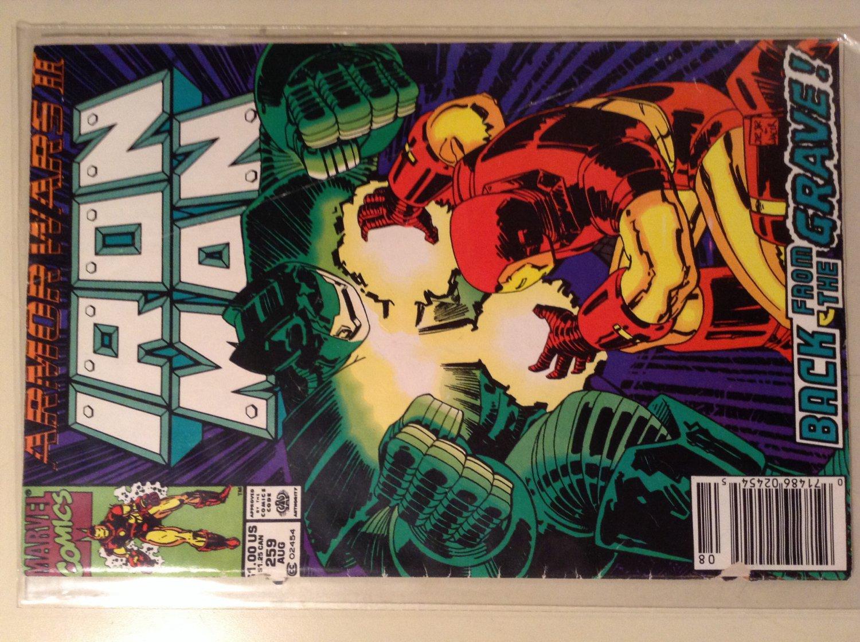 Iron Man 259 (1990) - Armor Wars 2
