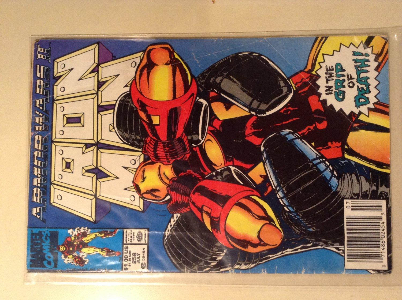Iron Man 258 (1990) - Armor Wars 2