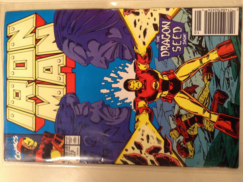 Iron Man 273 (1991) - The Dragon Seed Saga