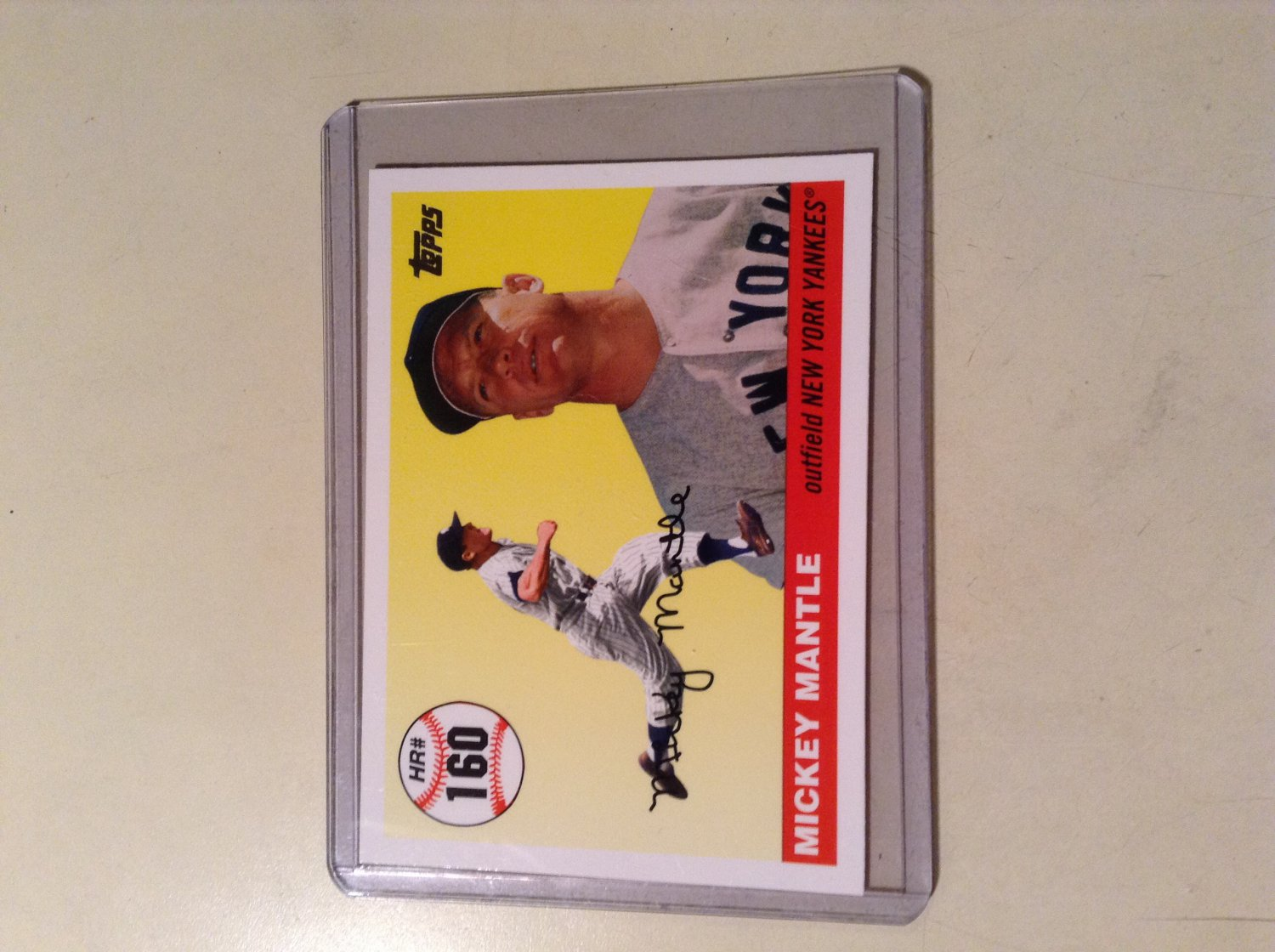 2006 Topps - Mickey Mantle (MHR160)