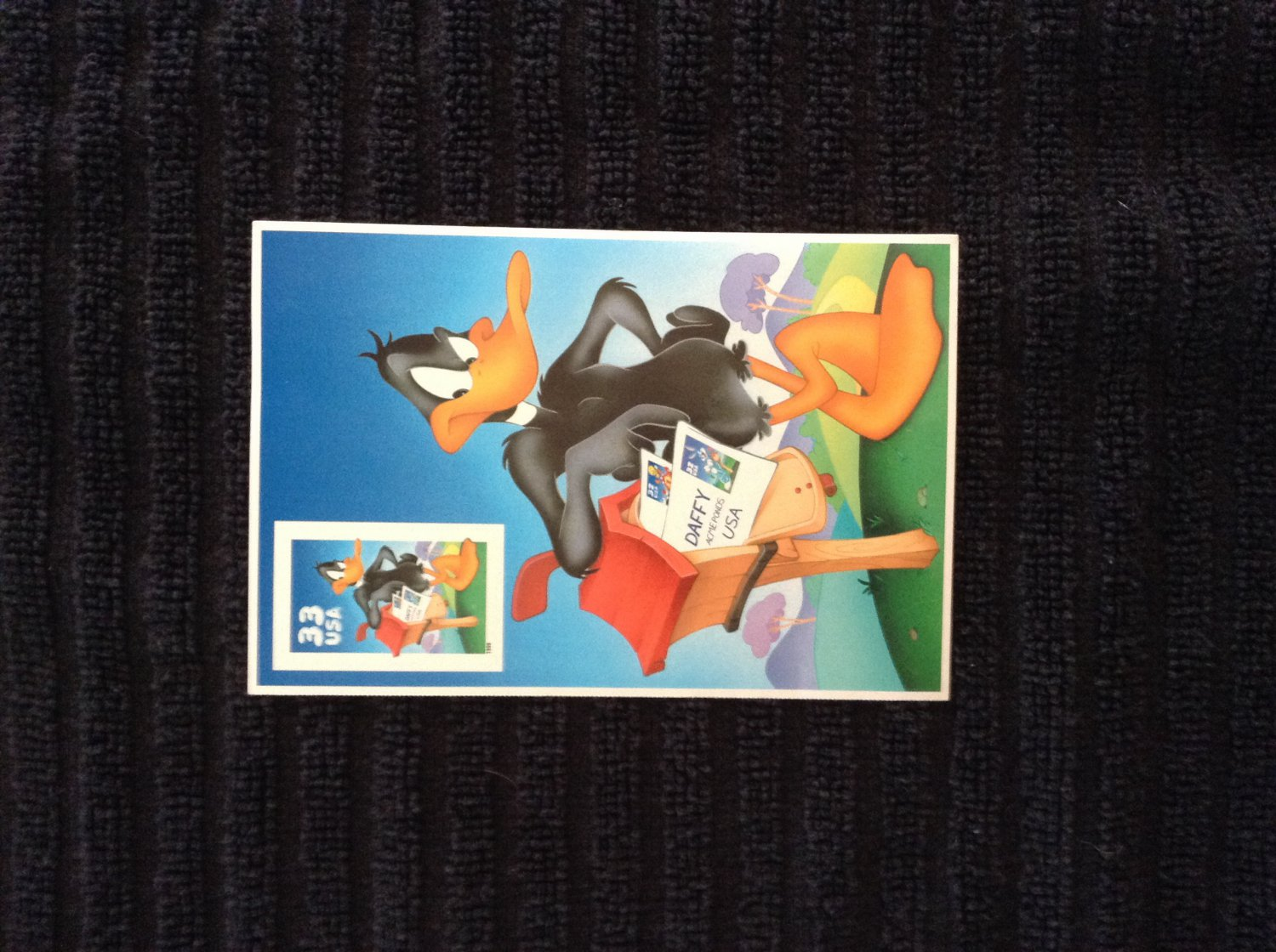 33 Cent Daffy Duck Postage Stamp - Unused