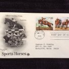 First Day of Issue Cover - Sports Horses 1 (1993)