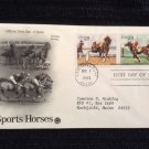 First Day of Issue Cover - Sports Horses 2 (1993)