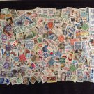 Lot of 25 US Postage Stamps Off Paper