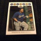 2008 Topps Chrome - Prince Fielder (120)