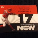 2007 Topps Generation Now - Ryan Zimmerman (GN235)