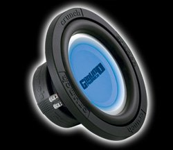 "Groundpounder 10"" 1000 Watts MAX Dual 4 Ohm Voice Coils"