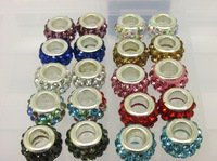 2 Multi - Colored Mother Family Birthstone European Beads