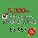 5,000 HQ Instagram Photo Likes