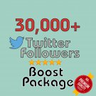 30,000 HQ permanent twitter followers