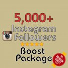 5,000 HQ Instagram Followers in 72 HOURS