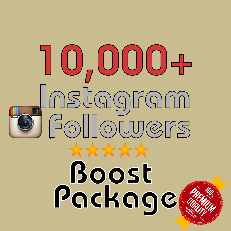 10,000 Instagram Followers INSTANT! in 72 hours