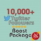 10,000 HQ permanent twitter followers