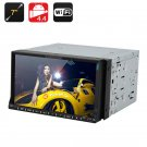 2 DIN 7 Inch Car DVD Player - Dual Core CPU, 1GB RAM, Android 4.4, GPS , 3G, Wi-Fi, Bluetooth