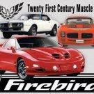 Pontiac Firebird Metal Tin sign
