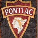 Pontiac 30'S LOGO Metal Tin Sign