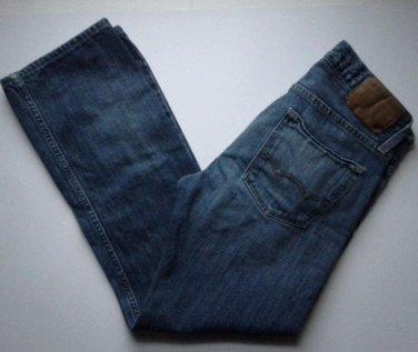 American Eagle Jeans Mens Size 29 X 30 Original Straight Classic Medium Dark