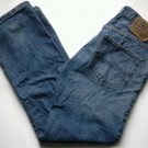 RALPH LAUREN POLO JEANS Men's Size 34 x 32 Easy Fit Straight Leg Distressed Blue