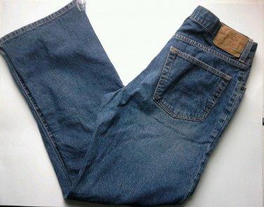 Abercrombie Fitch Jeans Mens Size 32 x 32 Classic Flare 432-5J Distressed Denim