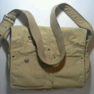 Levi's Messenger Bag Corduroy Laptop Red Tab Tan Sac Purse Tote Carry On EUC