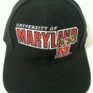 MARYLAND Snapback Hat Cap Terrapins Sports Specialties 90's Vintage DS NWOT Blk