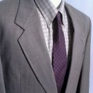 RUBIN International Blazer Sport Coat Jacket Mens Size 44L 100% Wool 2 Button