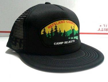 NEFF Snapback Cap Trucker Hat Mens Mesh Adjustable Black Council Camp Reject New