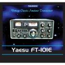 Yaesu FT-101E Amateur Ham Radio Mouse Pad