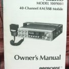 President Adams AM/SSB CB Radio Owners Manual w/schematics