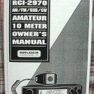 RCI-2950 AM/SSB 10 Meter Radio Owners Manual