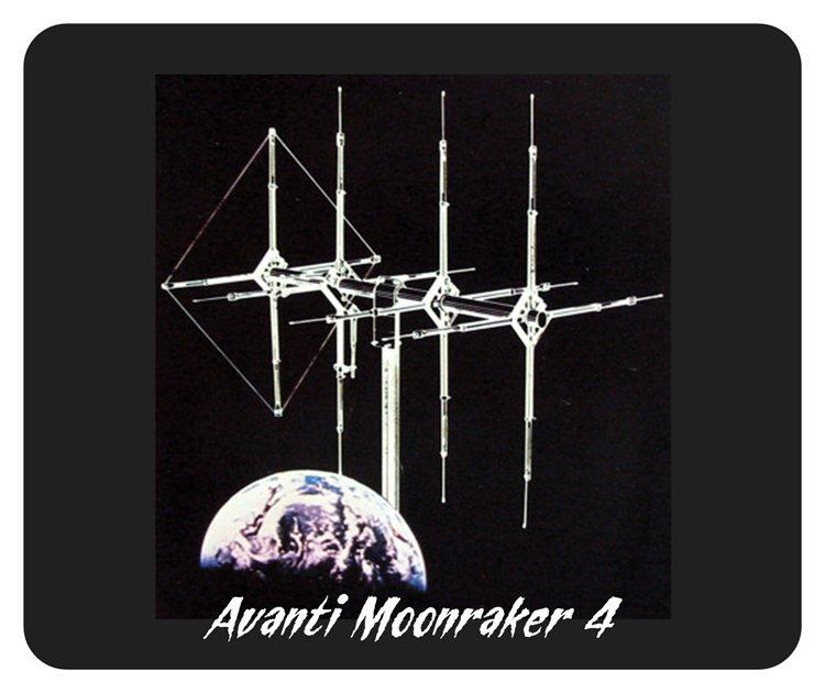 Moonraker 4 CB Base Antenna Mouse Pad