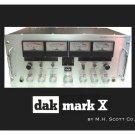 DAK Mark X AM/SSB CB Radio Mouse Pad - M.H. Scott