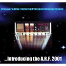 ARF 2001 AM/SSB Vintage CB Radio Deluxe Mouse Pad