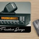 President George CB Radio Deluxe Mouse Pad