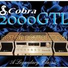 Cobra 2000GTL Postcard Magnet - Great Collectors Item
