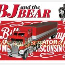 BJ and the Bear Kenworth Greg Evigan Magnetic Postcard