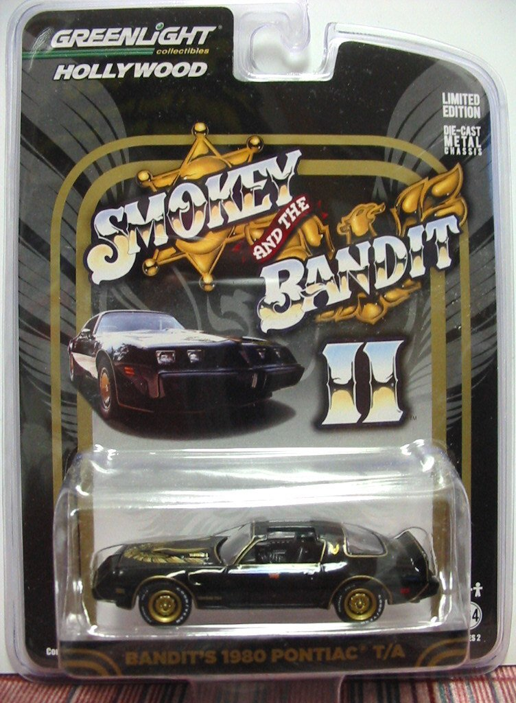 Greenlight 1980 Smokey and the Bandit 2 Trans Am 1:64