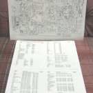 Cobra 148GTL-DX Schematics/Circuit Diagram + Parts List Sheet