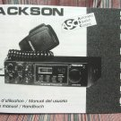 President Jackson DX Export AM/FM/SSB CB Radio Owners Manual