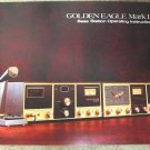 Browning Golden Eagle Mark IV Owners Manual NOS