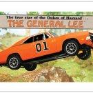 The Dukes of Hazzard 5 pc Fridge/Postcard Magnet Set #2 + FREE BONUS!